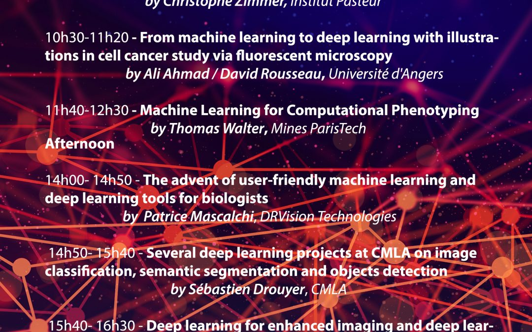 Machine learning/deep learning for Biology – January 30, 2020