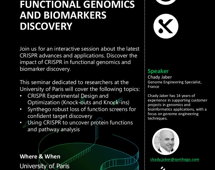 Virtual CRISPR Seminar